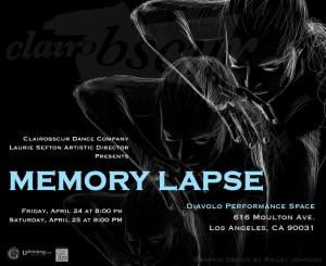 Memory Lapse Clairobscure